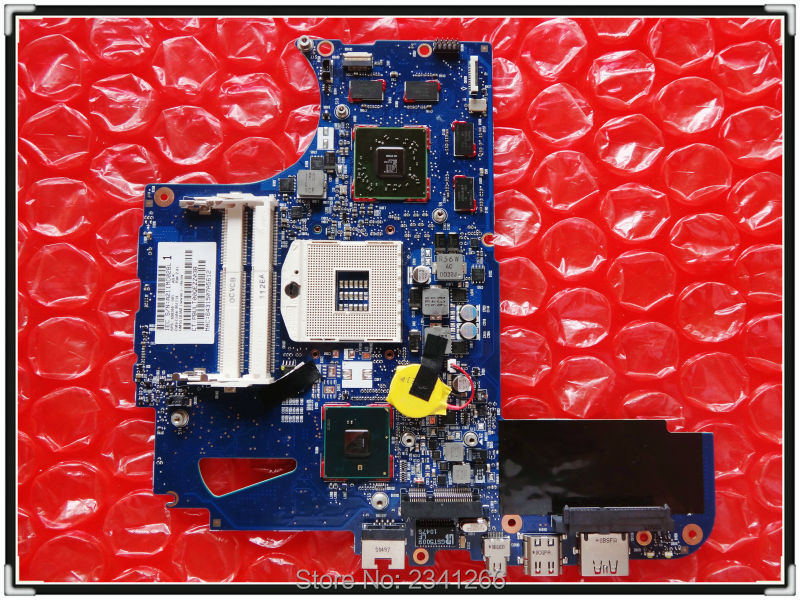 608365-001 for HP ENVY14 Laptop motherboard DDR3 for Intel Non-Integrated HM55-PM, 100% working Free shipping !