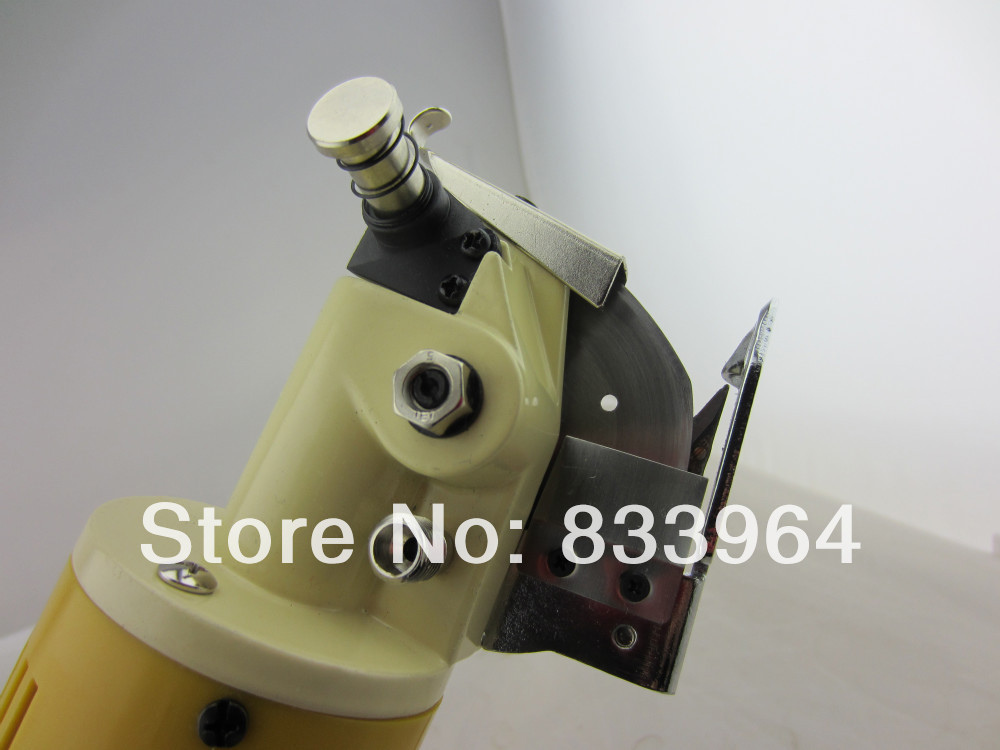 stainless steel rotary cutter knife220V 70mm Cloth Cutter Fabric Cutting Machine machine & equipment stainless steel tree cookie cutter