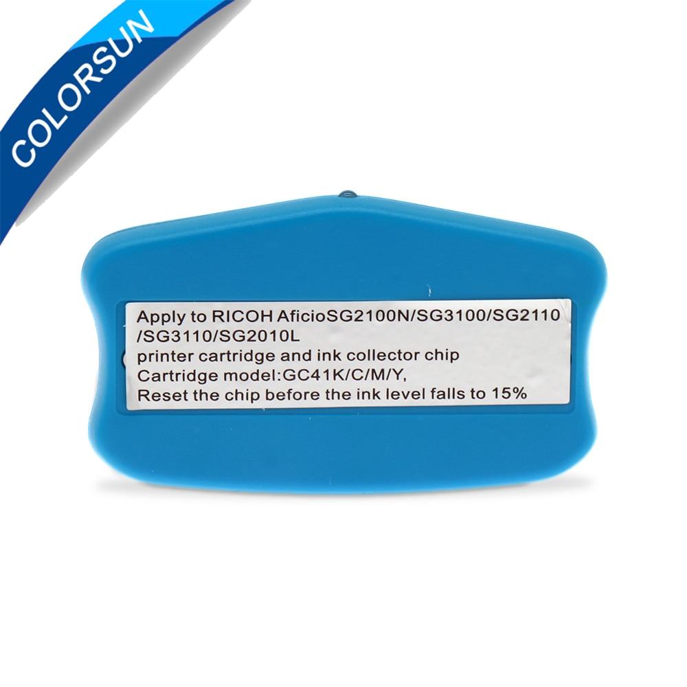 Dla Ricoh GC41 Cartridge Chip Reseter Dla Ricoh SG3100 SG2100 SG2010L - Elektronika biurowa - Zdjęcie 4