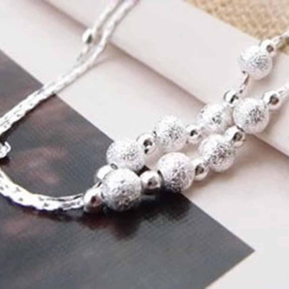 Регулируемый скраб бусины женские лодыжки браслет вечерние женские ножные браслеты и браслеты для женщин модные ювелирные изделия подарок