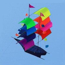 Профессиональный стерео парусная лодка кайт/3D Мощность воздушных змеев одной линии Бек с развевающимися Инструменты хорошо Летающий