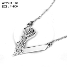 TV Series around Jewelry Minnesoca Vikings Logo Pendant Necklace Women accessories Link Chain Choker Necklace Wholesale