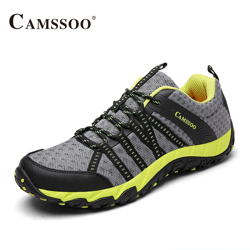 Camssoo Hiking Men Shoes Soft Footwear Classic Light Brand Cool Sneakers AA50161 camssoo new running shoes men soft footwear classic men sneakers sports shoes size eu 39 44 aa40375