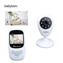 Babykam baba electronics wireless baby monitor 2.4 inch LCD IR night vision 2 way talk Temperature monitor digital baby monitors
