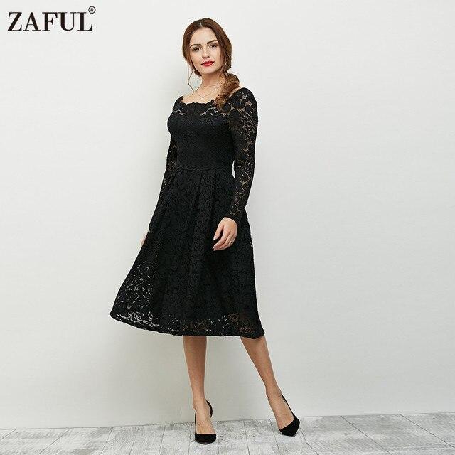 Lace Long Sleeve Dresses