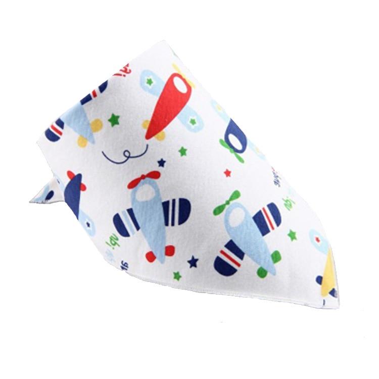 50pcs/lot Anyongzu Fashion Unisex 40*29*29 Baby Bib Infant Cotton Slobber Adjustable Triangle Baby Bandana Bibs