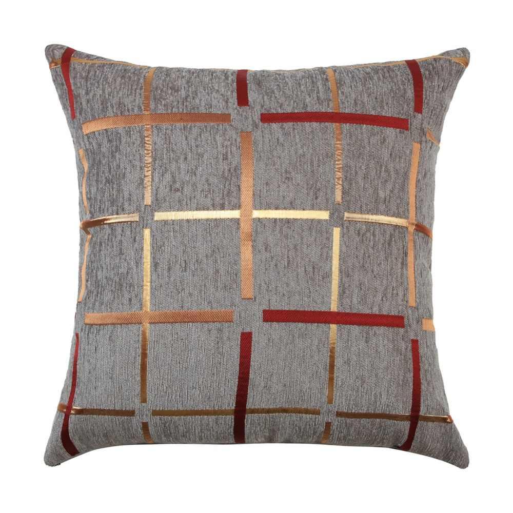 Dispersão Topfinel Moderna Geométrica Praça Cotton Linen Decorativa Lance Fronhas Capas de Almofada para o Sofá de Casa Quarto 45x45 cm