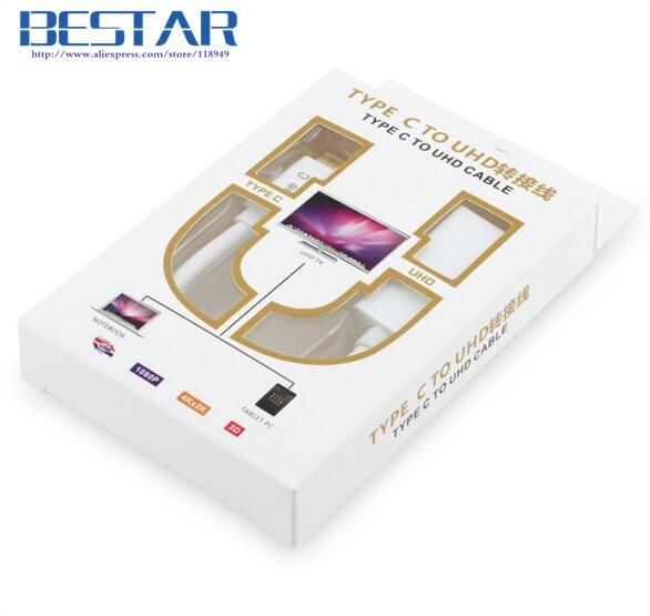 4K * 2K USB-C Tipo C Adaptador de audio y video AV digital, USB3.1 - Cables de computadora y conectores - foto 6