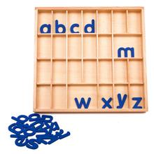 Montessori Language Material Movable Alphabet Box Educational Baby Language Learning Toys For Children Juguetes ME2864H