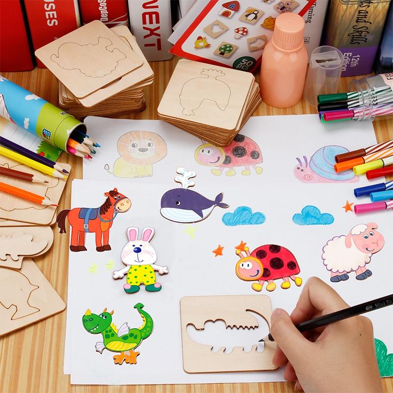 Pat Drawing Jucarii seturi cu stilouri din lemn de colorat Consiliul - Învățare și educație
