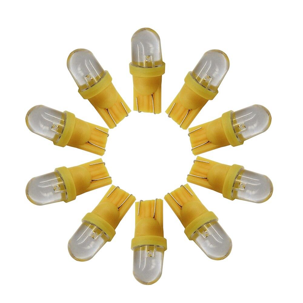 2 x T10 501 168 194 W5W 8 LED SMD White Car Wedge Side Light Lamp Bulbs 12V DT