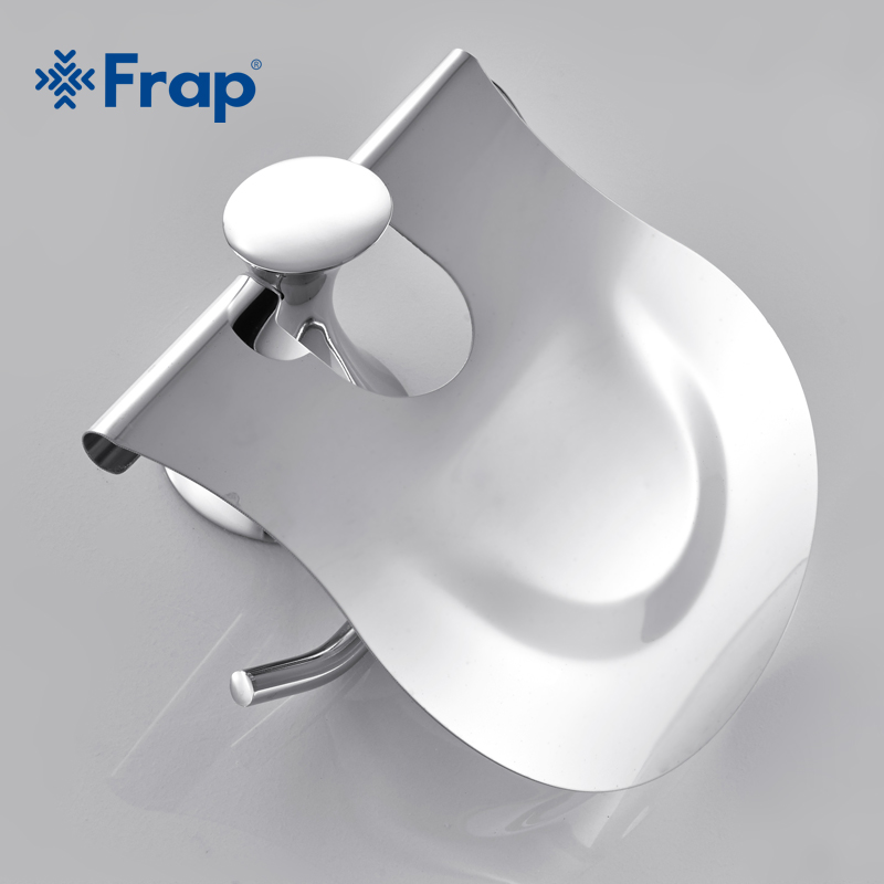 Frap Stainless steel Cover Toilet Paper towel holder Zinc alloy Mounting seat F3503