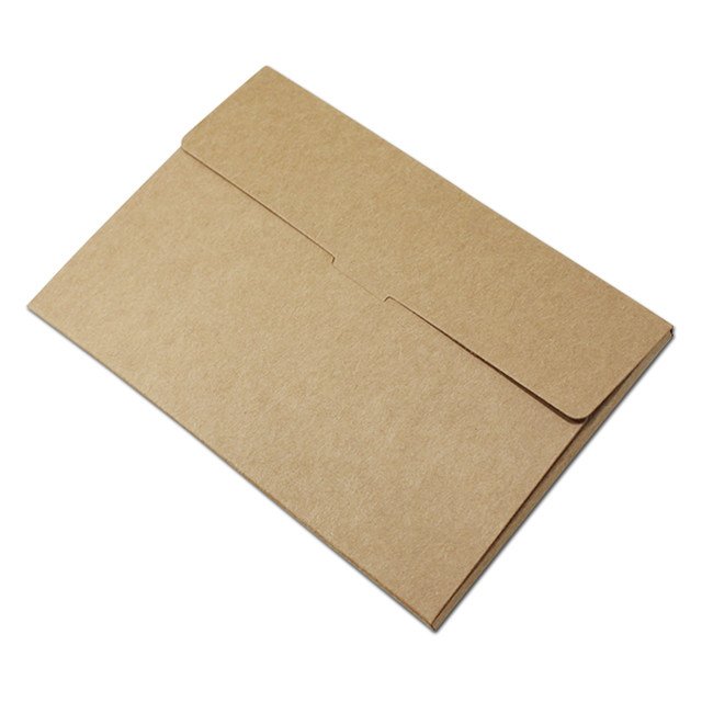 Online shop 10215505cm kraft paper postcard box foldable photo online shop 10215505cm kraft paper postcard box foldable photo box with window diy greeting card packaging display box storage holder aliexpress m4hsunfo
