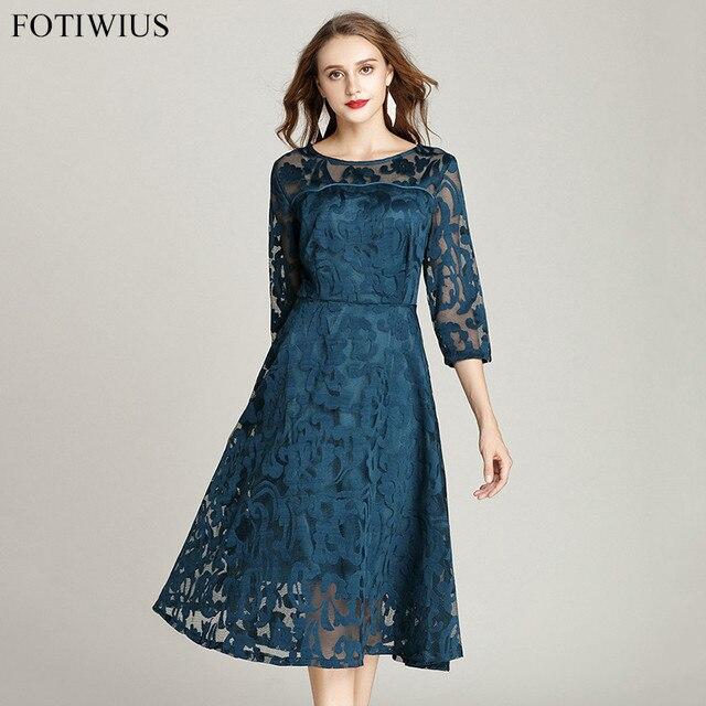 aec66575822 4XL 5XL Plus Size Dress Women Clothing 2018 New Fashion Spring High  QualityRed Lace Dress Elegant