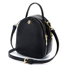 Women bag of genuine leather lady wrist bag with one shoulder strap female handbag bags handbags women famous brands chsanato women composite bag luxury cowhide leather lady purse and handbag famous brands female shoulder bag drop shipping