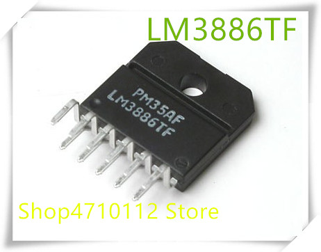 NEW 1PCS/LOT LM3886TF LM3886 ZIP IC