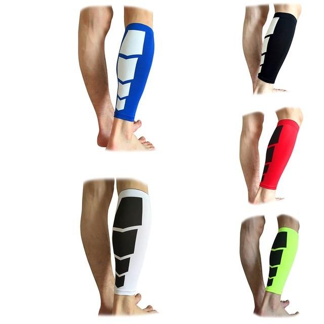 Women Men 1Pc Leg Warmers Calf Support Shin Guard Base Layer Compression Running Soccer Football Basketball  Leg Sleeves Safety
