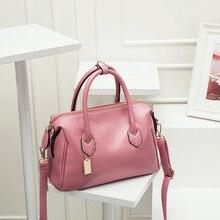 купить New Trend PU Leather Hand Bags Luxury Women Crossbody bag Fashion Shoulder Bag Lady Large Capacity Top Handle Bag Sac A Main недорого