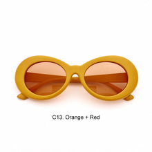 Superhot Eyewear – Clout goggles Retro Vintage White Sunglasses NIRVANA Kurt Cobain Glasses Alien Shades UV400 D0197