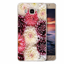 Case with Colourful Peony for Samsung