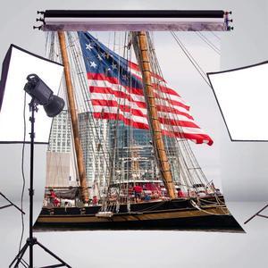Image 3 - Fondo de fotografía de barcos altos accesorios de estudio pared río agua fotografía telón de fondo 5x7ft