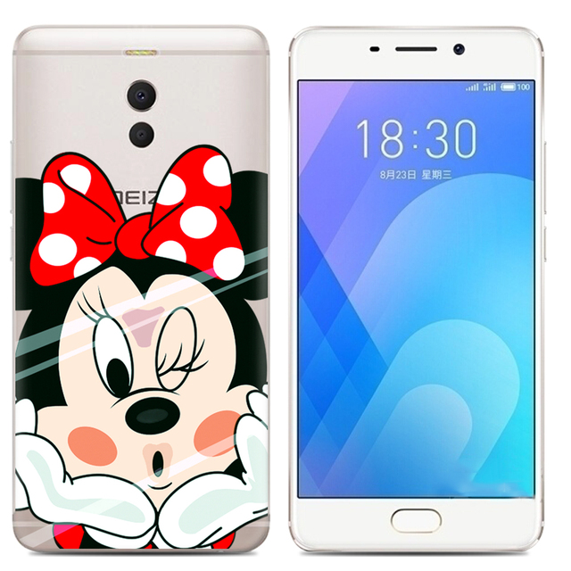 Drop Shipping TPU Soft Phone Case for Meizu M6 Note 6 5.5-inch Fashion Pattern Colorful Painted 4