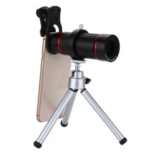 Big discount 18X Zoom Optical Telescope Telephoto Camera Lens With Tripod For Mobile Phone New Arrival