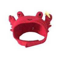 ハロウィン犬のコスチューム犬帽子キャンバスキャップ屋外ソフト猫帽子犬キャップラブリーペット帽子冬暖かいクリスマス猫衣装ヘッドギア