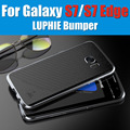 S7 edge bumper original luphie design 3d stereoscopic metal frame case for samsung galaxy s7 edge G9350 with track number