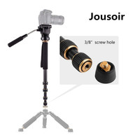 Q188 Portable Photography Video Lightweight Fluid Head Monopod for Camera CD50