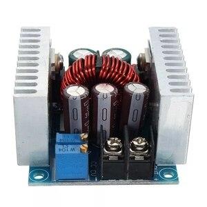 Image 3 - DC 6 40V כדי 1.2 36V 300W 20A זרם קבוע מתכוונן באק ממיר צעד למטה מודול לוח עם הגנה קצרה