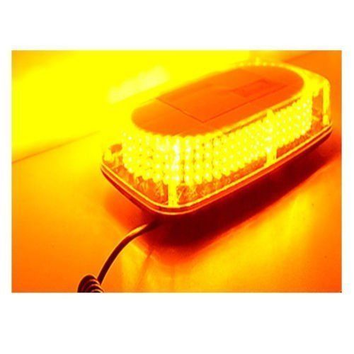 240 LED font b Light b font Bar Roof Top Emergency Beacon Warning Flash Strobe Yellow