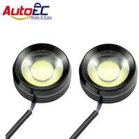AutoEC LED 2*6 12 W dla bmw e46 Eagle Eyes Krowa Oczy Lampy Przeciwmgielne światła Super Bright White hurtownie # LM25
