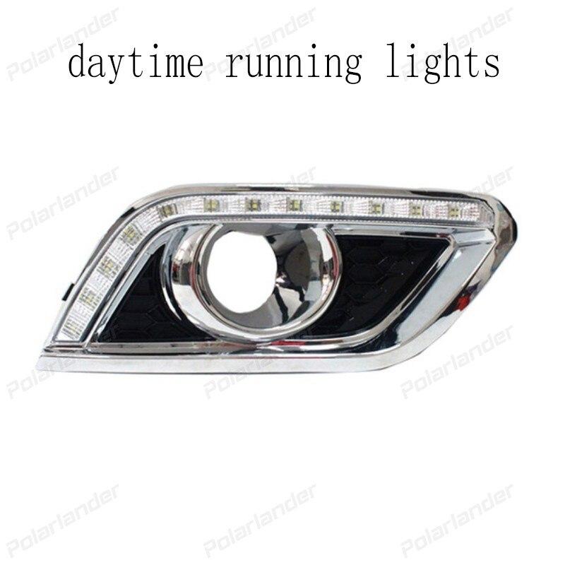 1 pair Fog Lamp Daytime driving Running Light led Turn Signal lights car styling For B/uick E/ncore 2013-2015