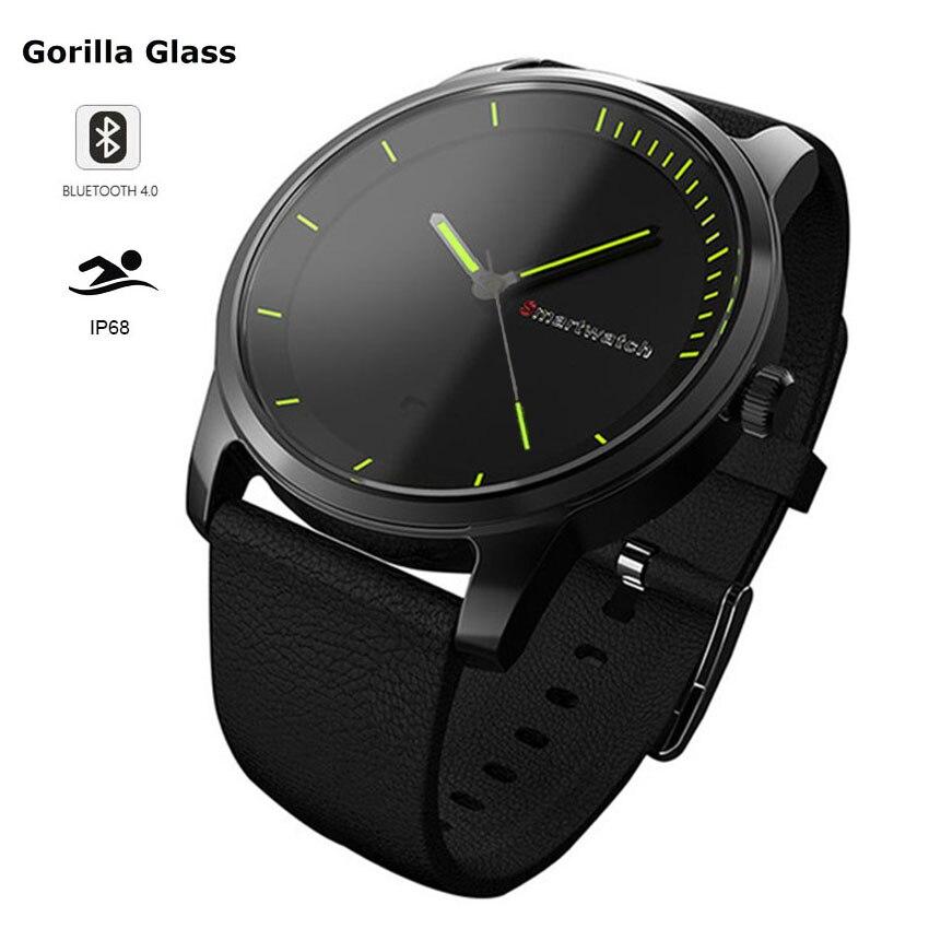 Consumer Electronics Hospitable New Gorilla Glass Ip68 Swim Smart Watch Pedometer/sleep Health Fitness Quartz Wrist Watch Men/women For Ios/huawei/moto/xiaomi Smart Watches