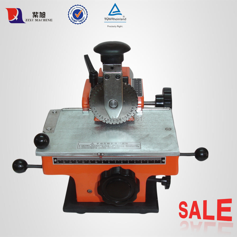 Manual Machine Letter Metal Embossing Stamp;Extra Character Plate;Free Shipping