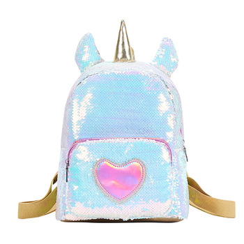 Sequin Unicorn Backpacks