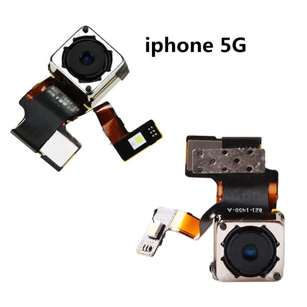 Sinbeda High Quality Back Camera Rear Facing Camera Flex Cable For iPhone 5 5G 5S Main Camera Flex Cable Replacement image