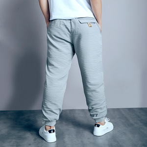 Image 4 - Big Boys Pants Autumn Teenage School Boys Trousers Casual Fat Kids Solid Long Pant Breathable Plus Size Clothes for 8 16 Years