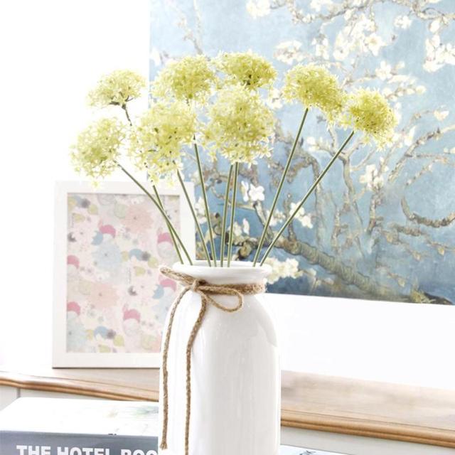 1pc Artificial Flower Elegant Garden Plastic Hydrangea Home Decor Wedding Party Bridal Bouquet F