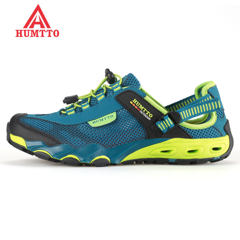 HUMTTO Men's Summer Outdoor Hiking Trekking Sandals Shoes Sneakers For Men Sports Aqua Climbing Mountain Shoes Man Senderismo merrto men s spring and summer outdoor trekking hiking shoes sneakers for men mesh sports climbing mountain shoes man senderismo
