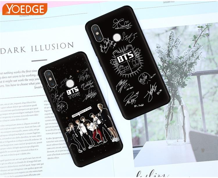 WEBBEDEPP bts bangtan boys Phone Case for Xiaomi Redmi 4X 4A