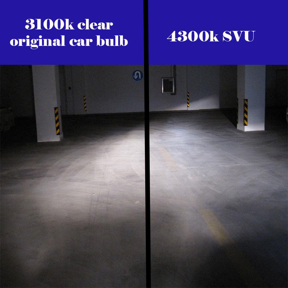 2PCS H4 halogenska svetilka 12V 60 / 55W Super Vision Ultra 4300K - Avtomobilske luči - Fotografija 6