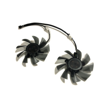 2pcs/Set FD7010H12D 90mm(85MM)HD7950 7970 GPU VGA Cooler Fan For HIS 7950 HD7970 IceQ R9 285 Graphics Card image