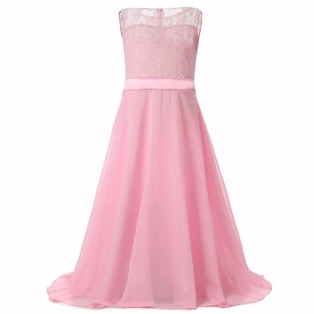 Adolescente Vestito Sera Da Sposa Ragazza Abito Lungo In Elegante 3AL4j5R