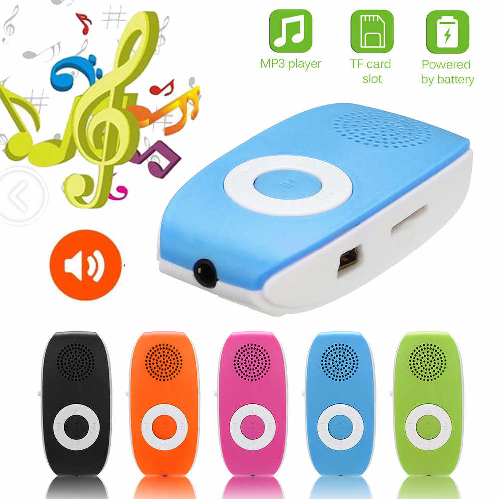 usb HiFi music player MP3 walkman reproductor Clip MP3 Player Support SD TF Card 32GB Sport Music Media Built-in Speaker