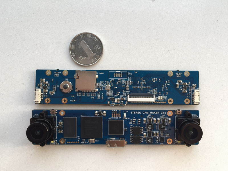 Binocular Camera USB3.0 FPGA Development Board Global Exposure 720p 1080p 4K