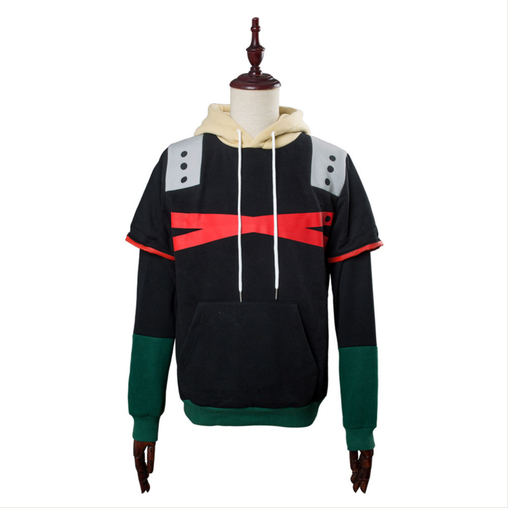 Bakugou Katsuki Cosplay hoodie Costumes Boku no hero Academia Bakugou Katsuki Sweatshirt Casual Zipper Jackets Coat Hooded