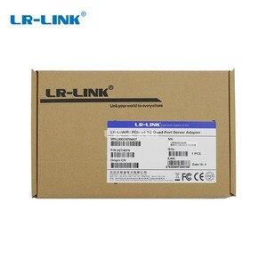 Image 4 - LR LINK 9704HT PCI Express ギガビットイーサネットネットワークカード Lan クアッドポート RJ45 サーバアダプタインテル 82580 I340 T4 互換 nic