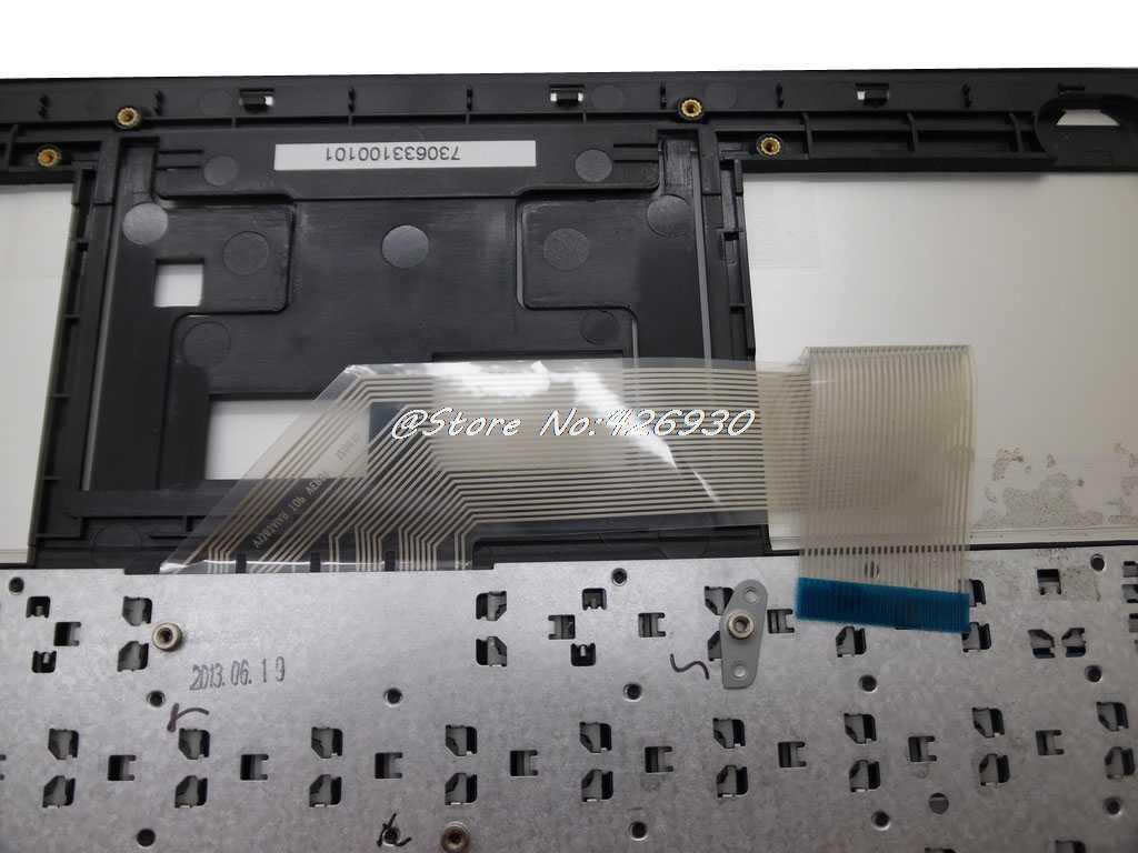 Computador portátil palmrest & teclado para cce ultra fino s23 s43 s345 641100184016/v1383aiar br brasil br prata sem touchpad